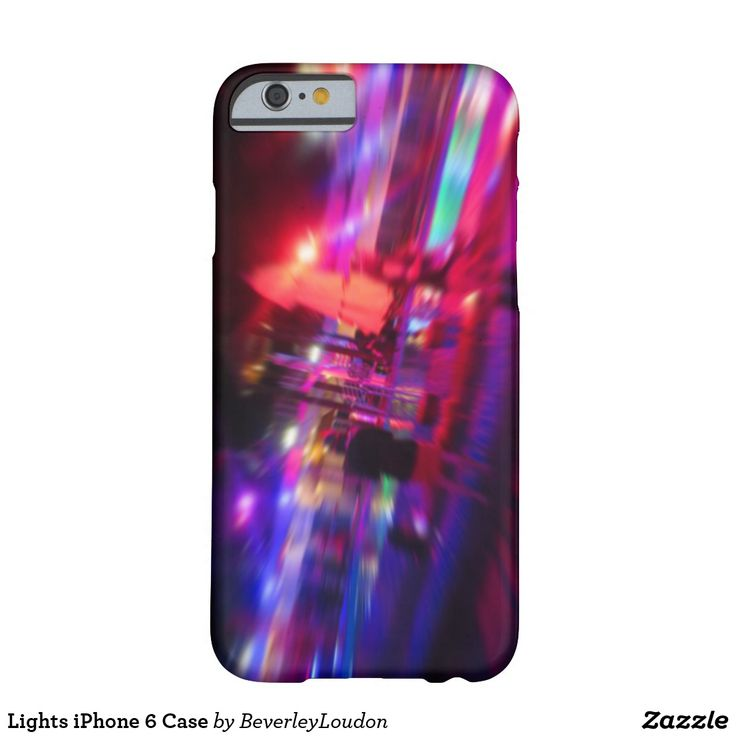 Lights iPhone 6 Case