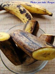 Les 25 meilleures id es de la cat gorie recettes - Comment cuisiner les bananes plantain ...