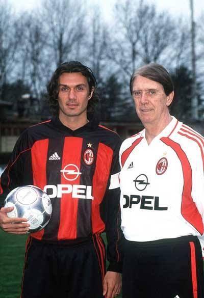 Paolo y Cesare Maldini.