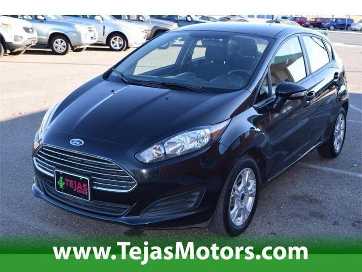 2014 Ford Fiesta 5dr Hb Se At Tejas Motors In Lubbock