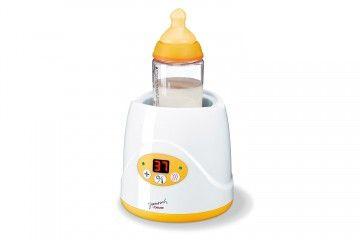 Chauffe biberon et petit pot, parfait pour réchauffer et maintenir au chaud les aliments de bébé. Autonome grâce à son arrêt automatique, son réchauffage régulier permet d'assurer une température idéale à l'alimentation du nourrisson. #bébé #baby #alimentation