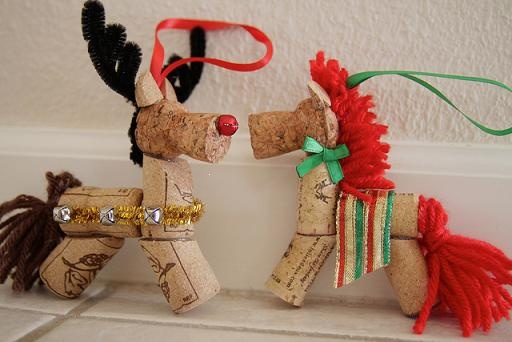 Cork Reindeer - I would change the tail, and use a leather strap for the bell detail
