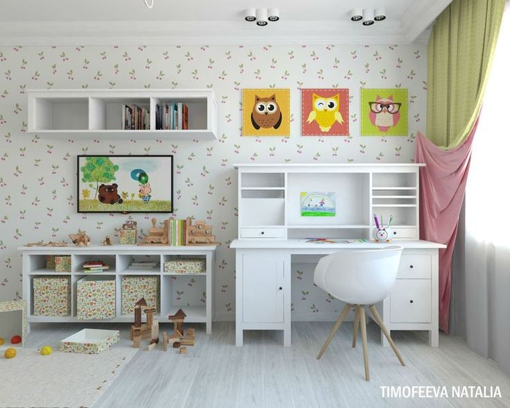 Детская комната для девочки!