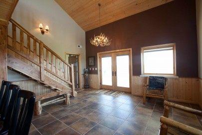 Pole barn home interior | House Ideas | Pinterest | Barn, Interiors ...
