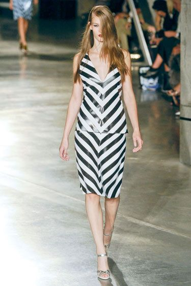 The Spring 2013 Runway Report - Show your Stripes - Karen Walker