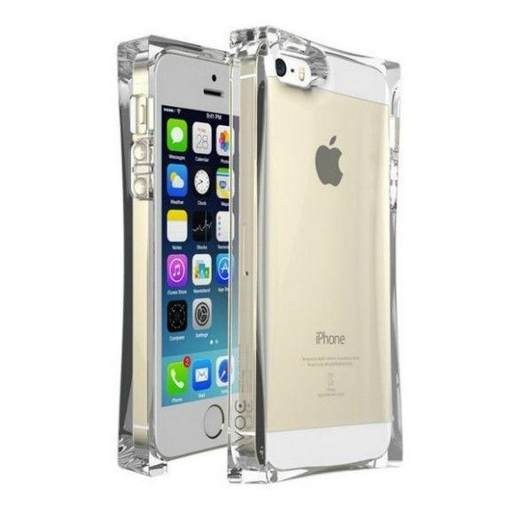 iPhone 5 / 5S - Transparent Ice Cube Clear TPU Case