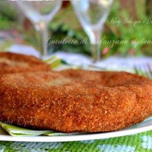 Cotolette di melanzane ripiene per una cena sfiziosa oppure ottime come Secondo piatto  Ricetta  http://blog.giallozafferano.it/dolcipocodolci/cotolette-di-melanzane-ripiene/