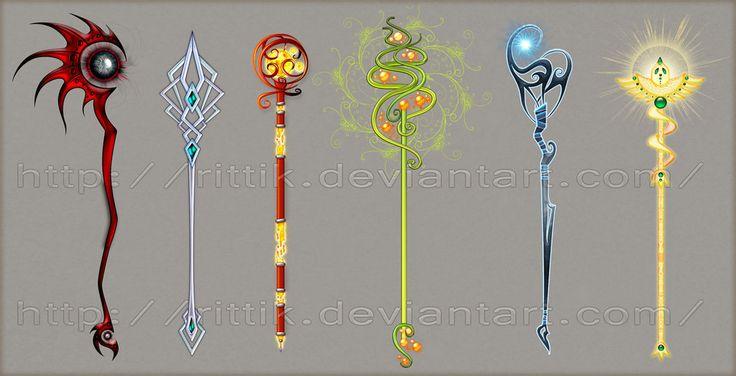 Staff designs 2 by Rittik-Designs on deviantART