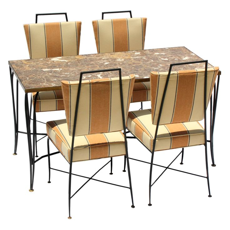 Attractive Arturo Pani Table And Chairs. Modern Dining ...