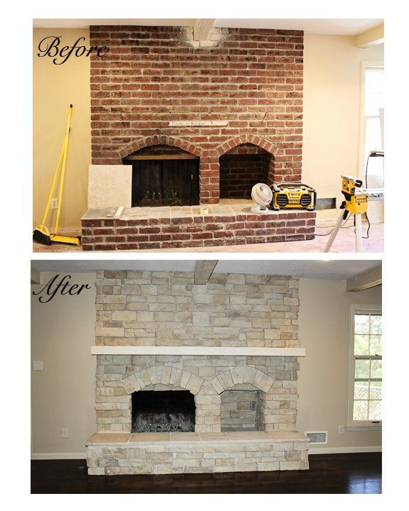 Refacing A Fireplace With Tile Home Design Mannahatta