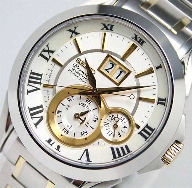 Seiko Premier Kinetic Watches : Australia Lowest Seiko Price - SNP022P1