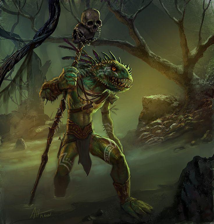 154 Best Lizardfolk Images On Pinterest