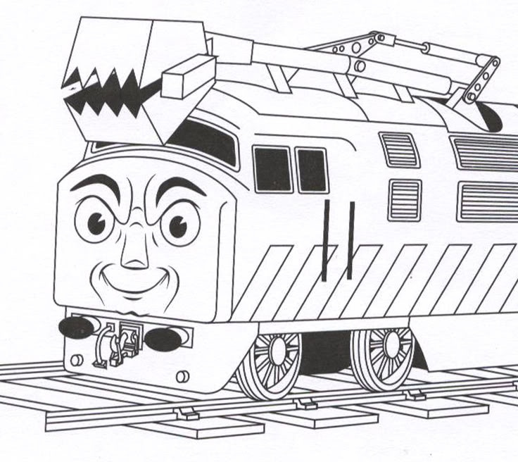 diesel 10 coloring pages - photo#2