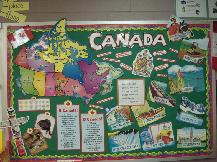 Canada Unit Bulletin Board....it is possible to remove each province/territory on the map which is a good review activity.