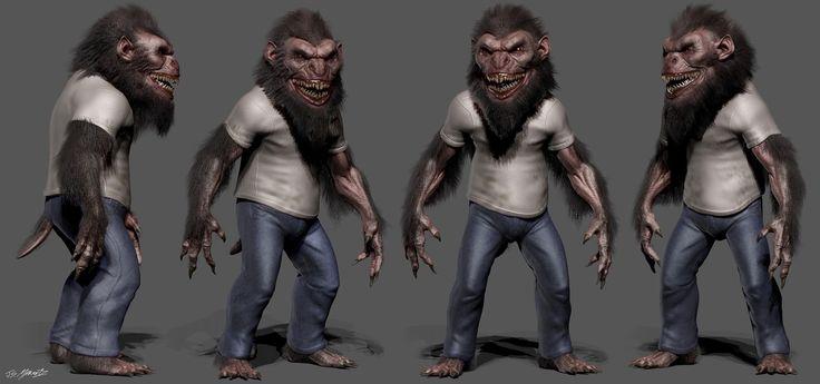 Jerad S Marantz: Grimm Season 4 Designs