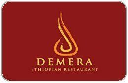 Demera Ethiopian Restaurant Gift Card *** Wow! I love this. Check it out now! : Gift cards