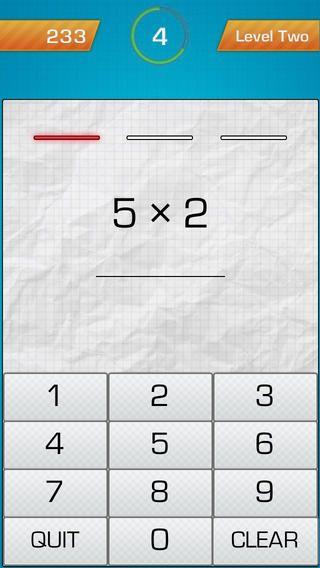 MultiFlow: Times Tables Reimagined. Her øves gangestykker på 3 levels i et minut ad gangen. Normapris 16 kr og i påsken gratis.