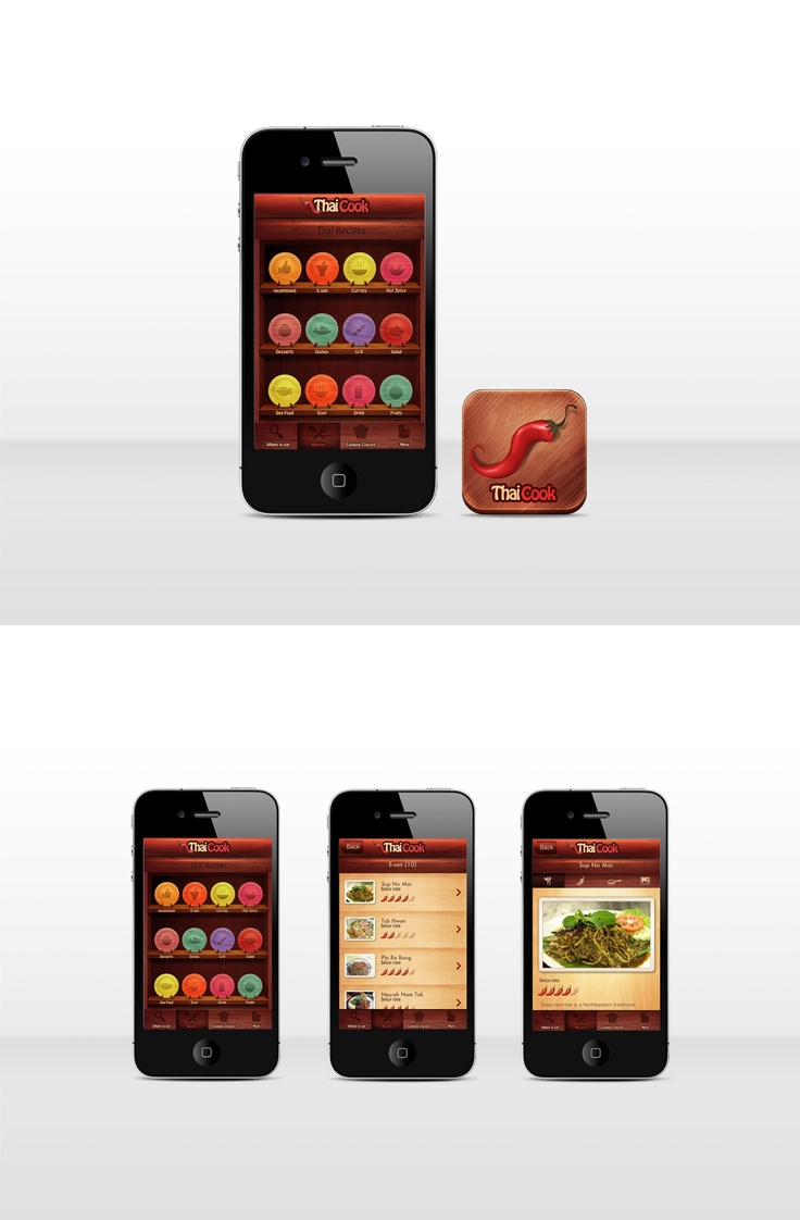 Thai Cook apps