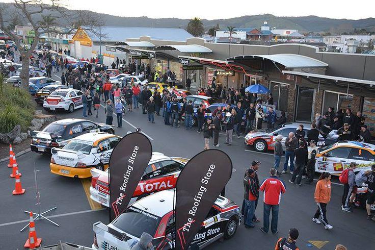 Goldrush Rally of Coromandel kicked off in Whitianga tonight