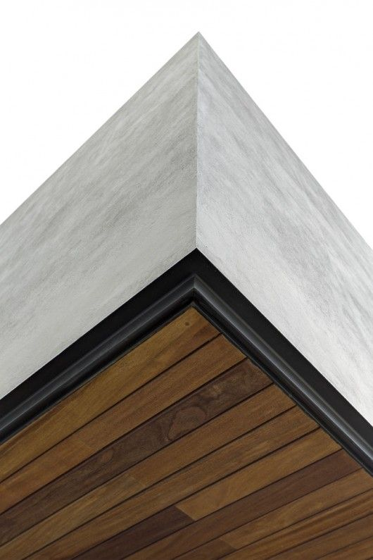 very nice clean detailing at OVal house © Marcos García