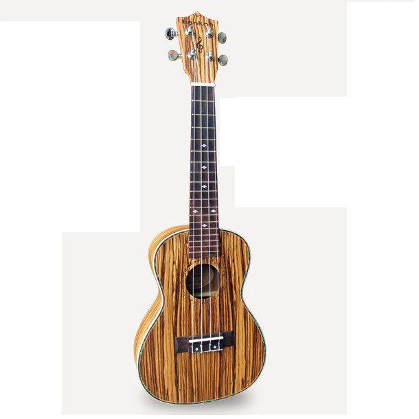 "23"" Zebrawood concert Ukulele Guitar gitarr gitara uke Guitarra gitar mini child guitar 4string musical sport tool instrument"