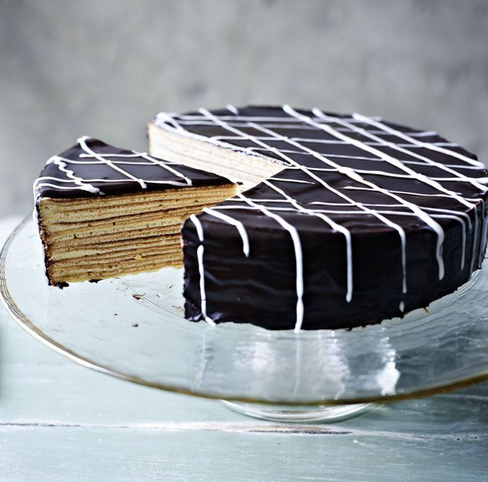 This German 20-layer cake is cooked under the grill with the most watchful of eyes - namely, Paul Hollywood's!