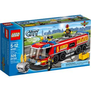 LEGO City Great Vehicles Airport Fire Truck Building Set
