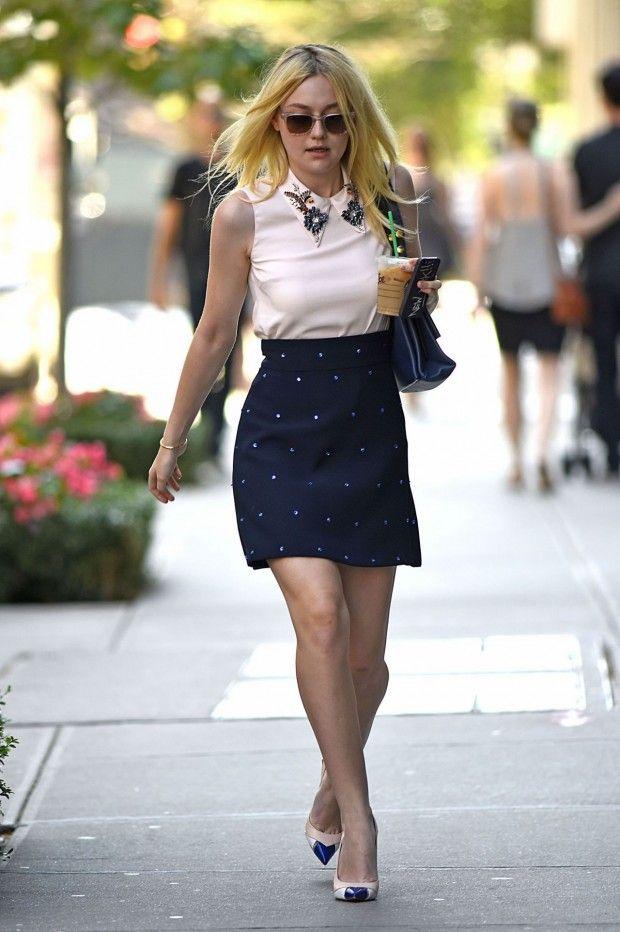 11 Looks da Dakota Fanning por aí - Fashionismo