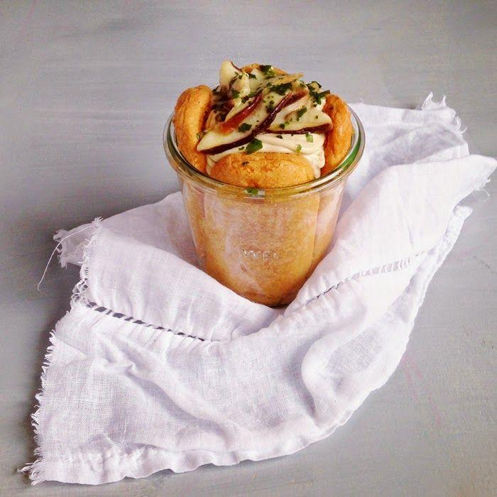 timo e basilico: Tiramisù salato ai porcini {only the finest}