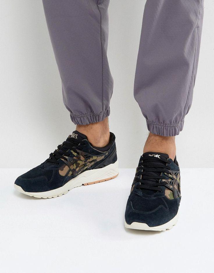 ASICS GEL-KAYANO SNEAKERS IN BLACK HL7C1 9086 - BLACK. #asics #shoes #