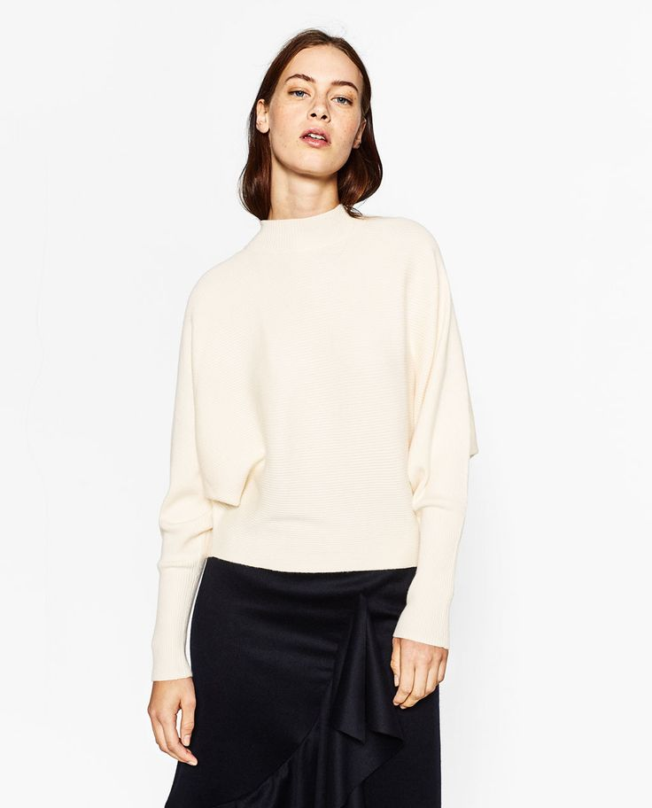 BATWING SLEEVE SWEATER-View All-KNITWEAR-WOMAN-COLLECTION SS/17 | ZARA United States