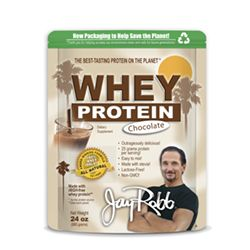 Jay Robb Whey Protein, good ingredients (gmo free)