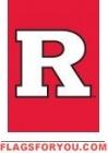"Rutgers Scarlet Knights Garden Window Flag 15"" x 10.5"""