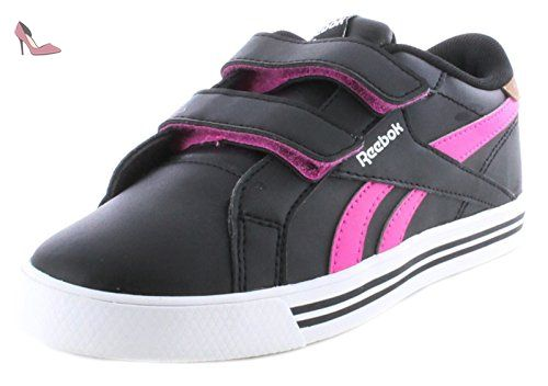Reebok - Royal Comp Syn Alt - Couleur: Blanc-Noir-Rose - Pointure: 29.0 - Chaussures reebok (*Partner-Link)