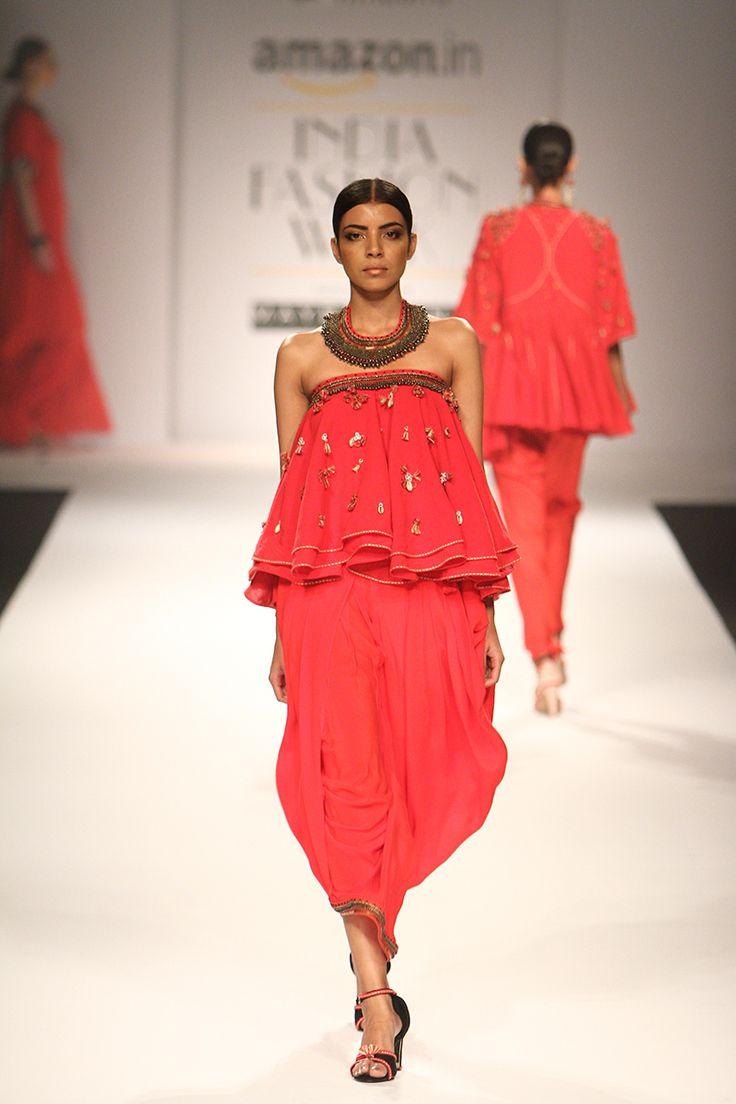 Nikasha at Amazon India Fashion Week autumn/winter 2016