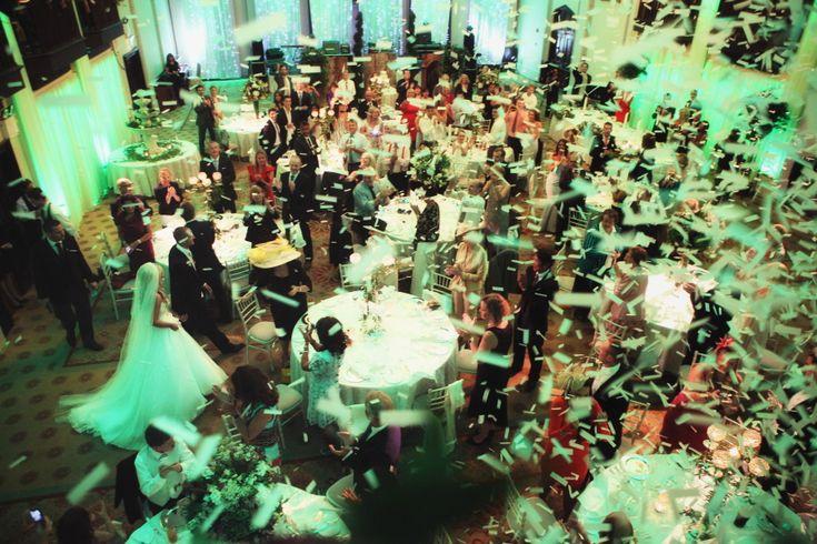 Wedding party at Dromoland Castle