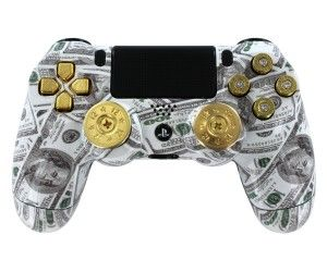 We are back with a new look and a new controller for the ps4.  http://www.yourmoddedcontrollers.com/ps4-modded-controller-that-has-bullet-buttons/   #moddedcontrollers #ps4moddedcontroller #ps4 #modded #controller