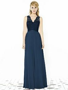 After Six Bridesmaids Style 6715 http://www.dessy.com/dresses/bridesmaid/6715/