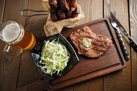 Kochkurs Dortmund – Bier und Steak