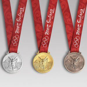 The Beijing medals of 2008. See more sports pictures.