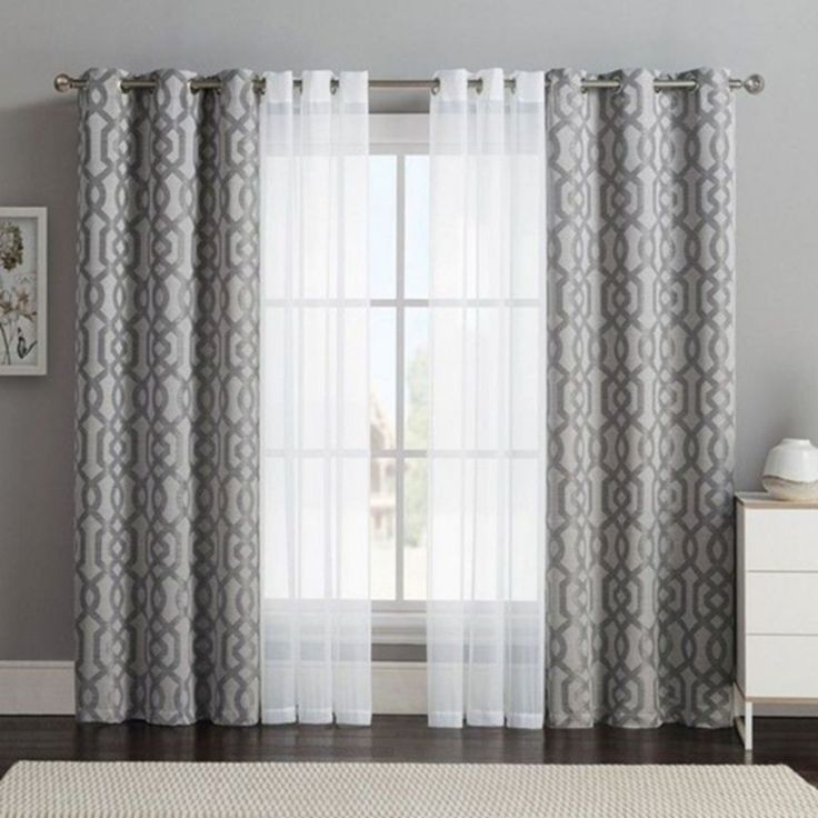 Curtains Living Room Curtain Decor, Double Curtains For Living Room