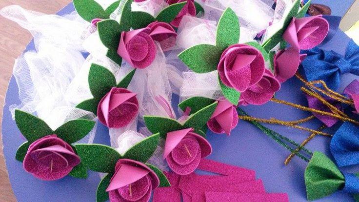 her daim güzel güller  (simli eva , kürdan ,tül )