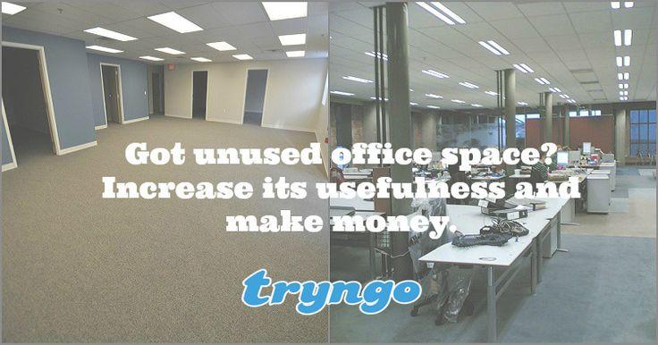 Avec #tryngo vous pouvez #Partager votre #EspaceDeBureau inutilisé et faites de l'argent! En savoir plus sur http://tryngo.com/