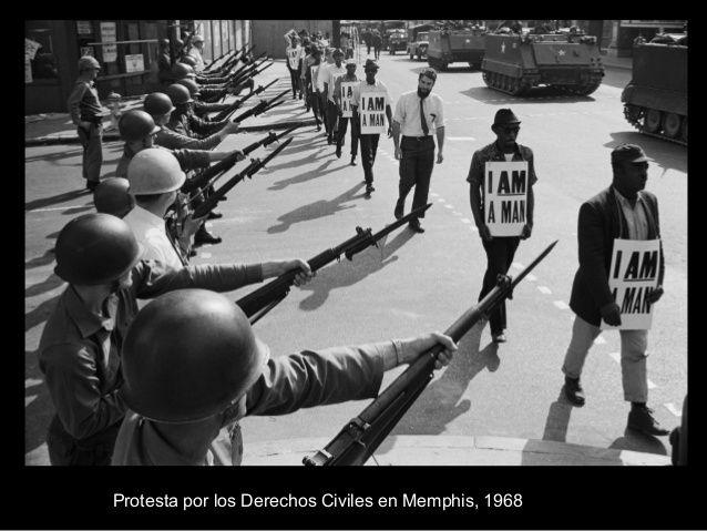 Movimiento por los Derechos Civiles. Se considera que este movimiento comenzó con el boicot a los autobuses de Montgomery en 1.955 y que concluyó con el asesinato de Martin Luther King en 1968.   http://www.unitedexplanations.org/2016/01/13/pasado-y-presente-cincuenta-anos-del-movimiento-por-los-derechos-civiles-de-los-afroamericanos-en-estados-unidos/