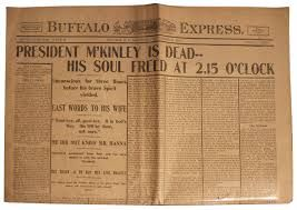 William McKinley (January 29, 1843 – September 14, 1901) an American politician and lawyer who served as the 25th US President from March 4, 1897 until his assassination in September 1901, six months into his second term.