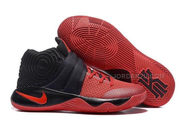 http://www.jordan2u.com/nike-kyrie-2-blackgym-red-kyrie-sneakers-sale.html Only$69.00 #NIKE KYRIE 2 BLACK/GYM RED KYRIE SNEAKERS SALE Free Shipping!