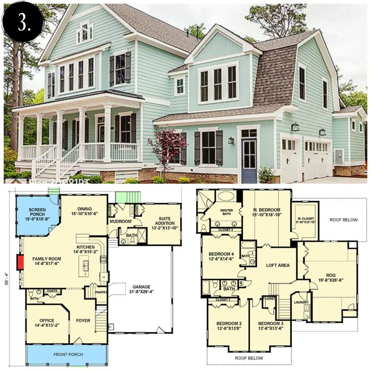 9 best houseplans images on pinterest country home plans floor 10 modern farmhouse floor plans i love malvernweather Image collections