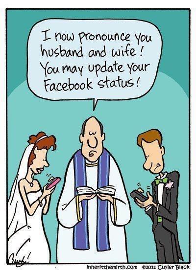 hahhModern Wedding, Wedding Humor, Social Media, Get Married, Funny Stuff, So True, Marriage, Socialmedia, True Stories