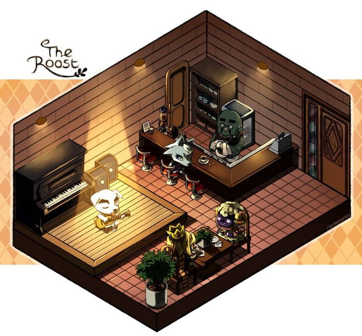 Animal Crossing Wild World - The Roost by Creamsouffle on deviantART