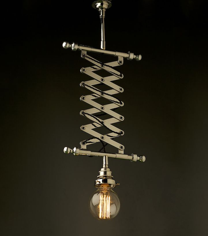 Steampunk-Inspired Lighting Uses Energy-Efficient LED Technology - My Modern Met